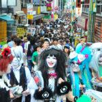 ハロウィンパーティーのコスプレ&メイクは原宿の竹下通りで調達するのがオススメ☆
