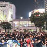 東京渋谷スクランブル交差点にてハロウィンイベントに遭遇そして便乗!レンタルスペースでハロウィンパーティーもオススメ!