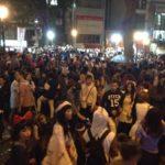 大阪アメ村(アメリカ村)三角公園のハロウィンパーティーはいつ?外国人も一緒に朝までにぎわい続ける野外イベントと化している!